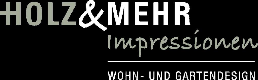 Holz&Mehr_Logo 1200x375_transparent_weiße Schrift